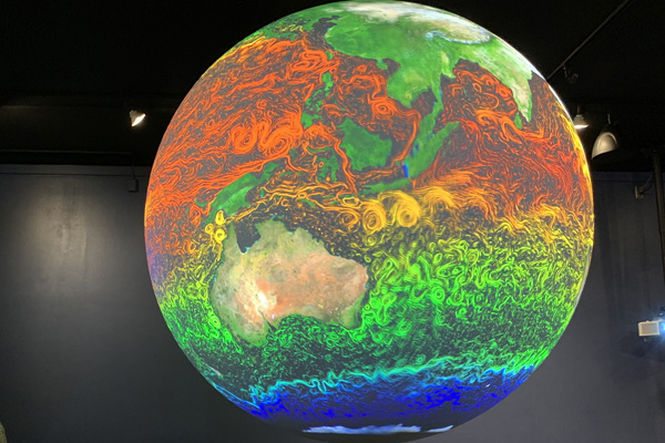Climate Clues: Visualizing Climate Change - Science On a Sphere